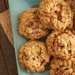 Butter Pecan Oatmeal Cookies