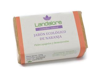 Jabón Natural Naranja Vegano Landalore