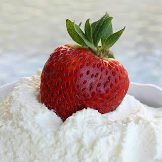 How to make homemade Whipped Cream.