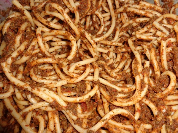 Fooled You Twice Spaghett.  Aka Hidden Veggies Recipe