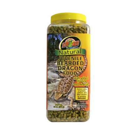ZooMed Natural Juvenile Bearded Dragon Food 567g