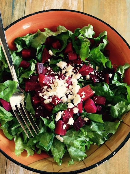 Roasted Beet Salad With Goat Cheese And Walnuts Recipe