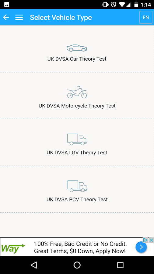 UK Driving Tests- screenshot