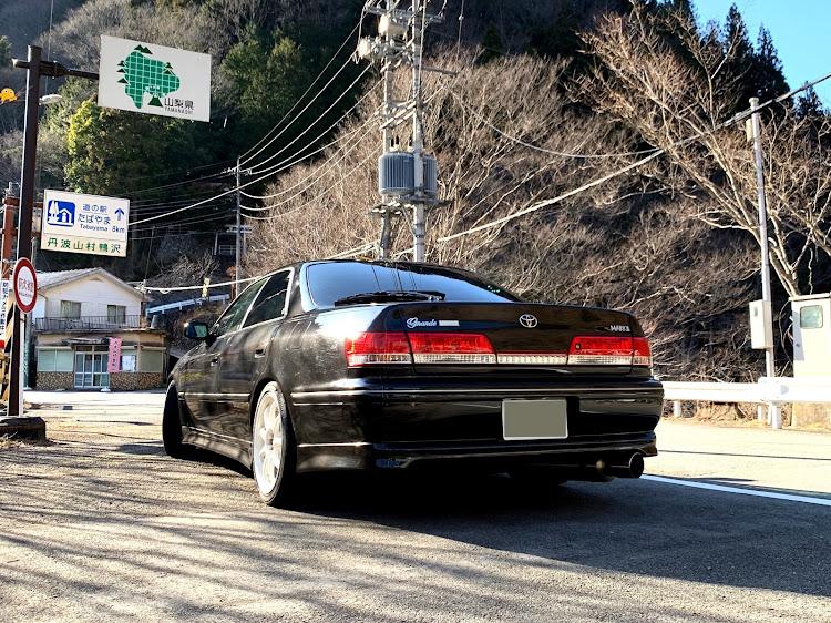 マークII JZX100のSSS(saitama street stage),奥多摩湖,小河内ダム,医療従事者にエールを❗️,ソロ活に関するカスタム&メンテナンスの投稿画像4枚目