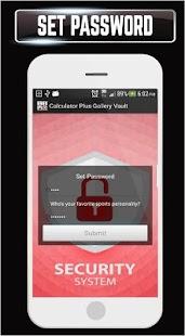 Calculator Plus Gallery Vault Photo Video Locker - náhled
