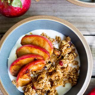 Easy Apple Crisp Breakfast Bowls