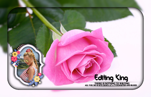 Download Pink Rose Photo Frames For PC Windows and Mac apk screenshot 2