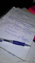Photo: We are planning my son's birthday party and I need to get my new healthy foods. I started my list.