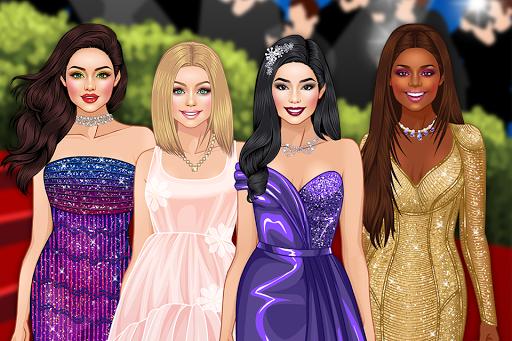 Red Carpet Dress Up Girls Game apktram screenshots 1