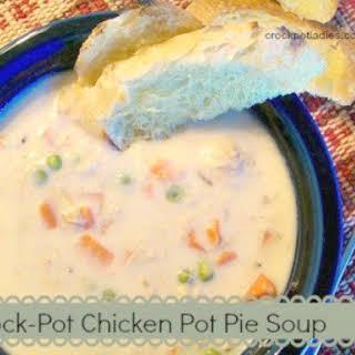 Crock-Pot Chicken Pot Pie Soup.