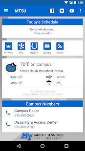 MTSU Mobile- screenshot thumbnail