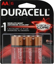 Duracell Quantum Alkaline Batteries - Size AA, 6ct