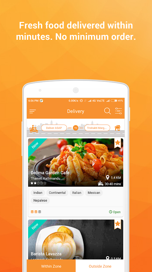 Bhojdeals (now BHOJ) - Restaurant Deals & Delivery- screenshot