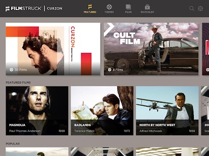 FilmStruck Intl. – Stream and watch iconic films Screenshot