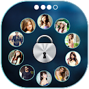 Photo Lockscreen Circle v 1.1 app icon