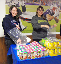 Photo: Joanna & Vici Packing Kare Kits April 21, 2013 for United Way's Star Project Competition.