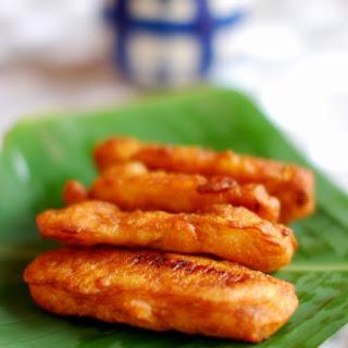 Ethakkappam/Pazham Pori/ Banana Fritters