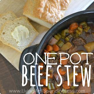 One Pot Beef Stew Recipe