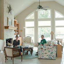 Photo: title: Ann & Sanny Sullivan, Kerrville, Texas date: 2012 relationship: friends, art, met through Moria Greenspun Tarmy years known: 0-5