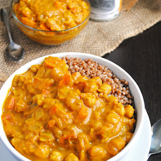 Chickpea Pumpkin Coconut Curry (vegan)