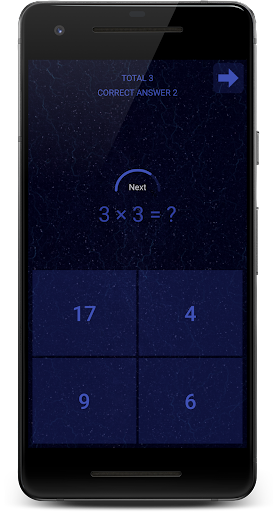 Mathology - Brain Game App per Android screenshot