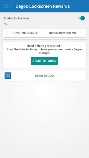 Degoo Lockscreen Rewards 1.2.3 screenshots 2