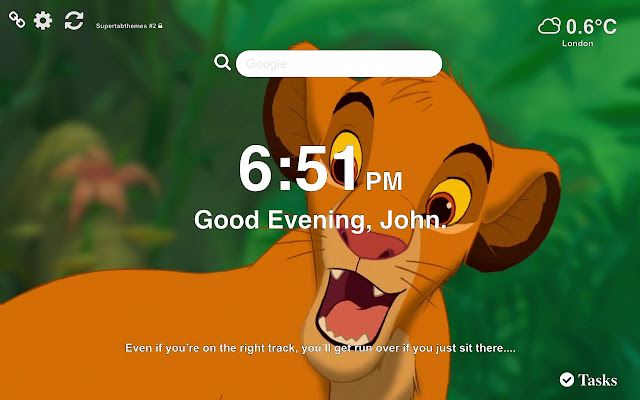 The Lion King Wallpapers HD New Tab