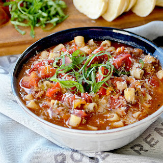 Ground Beef Pizza Soup Recipes