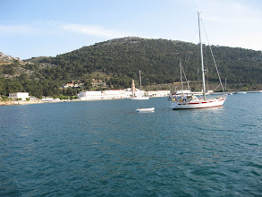 Photo: Symi and first anchorage of 2009 season