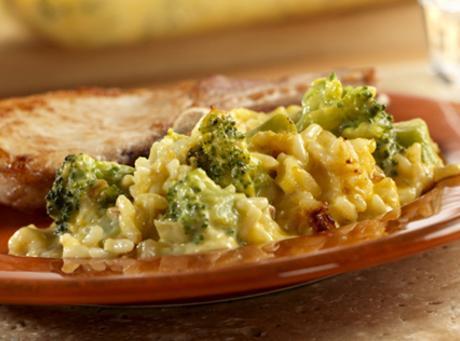 Cheesy Broccoli And Rice Casserole Recipe