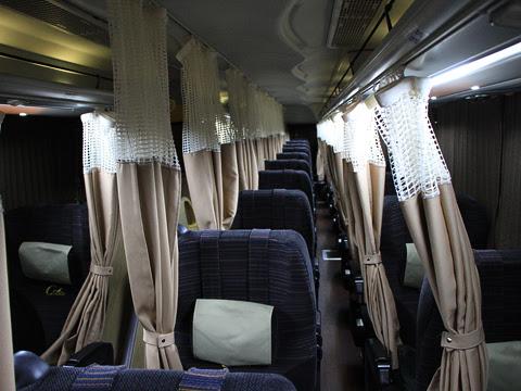 西日本JRバス「高知エクスプレス」 2179 グランドリーム車両 車内