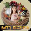 Birthday Cake With Name and Photo Frame APK