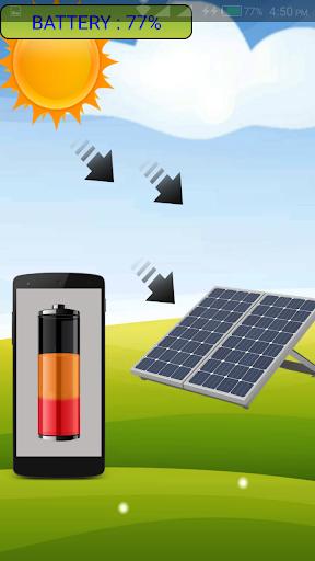 ソーラー充電器いたずら2016