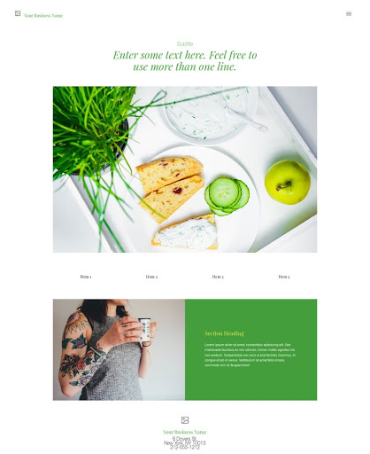 Build a Nutritionist Website