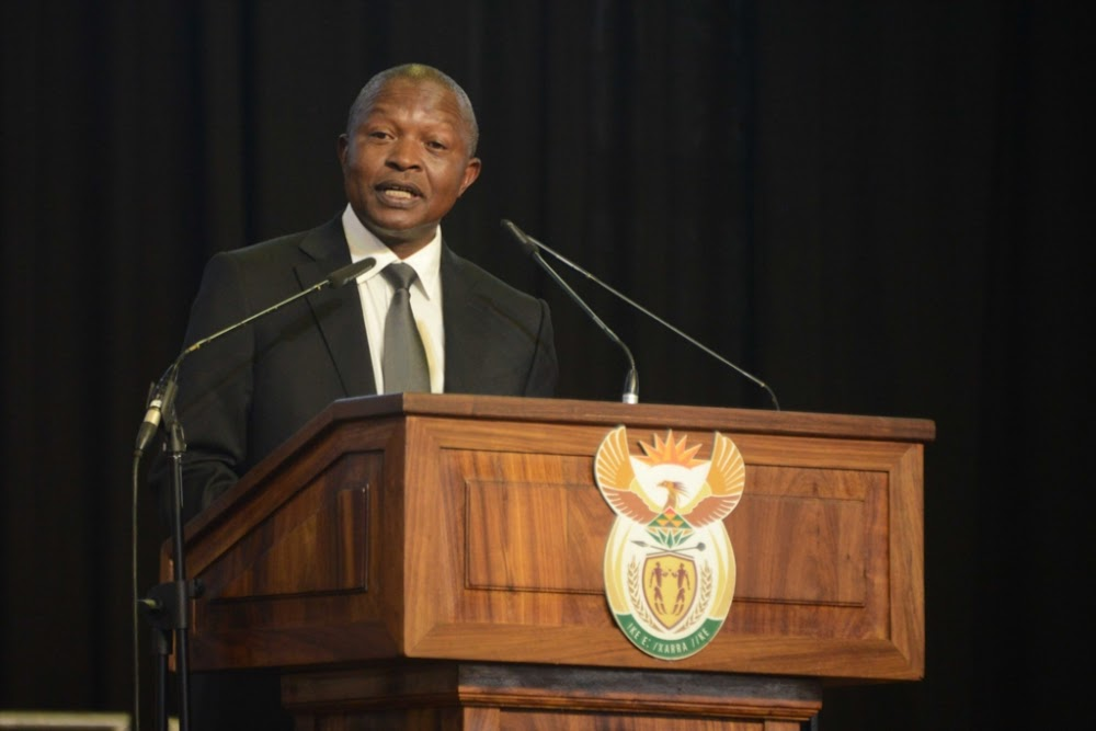 David Mabuza chastises ministers over slow answers to parliamentary questions - SowetanLIVE
