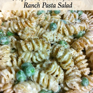 Pasta Salad With Ranch And Italian Dressing Recipes.