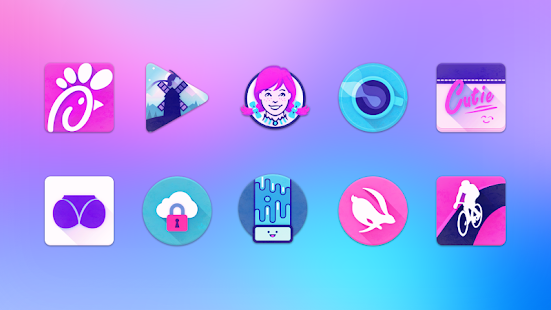 Unicorn Icon Pack Screenshot