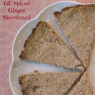 GF Ginger Spiced Shortbread