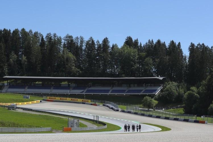 2020年F1第1戦オーストリアGP木曜日