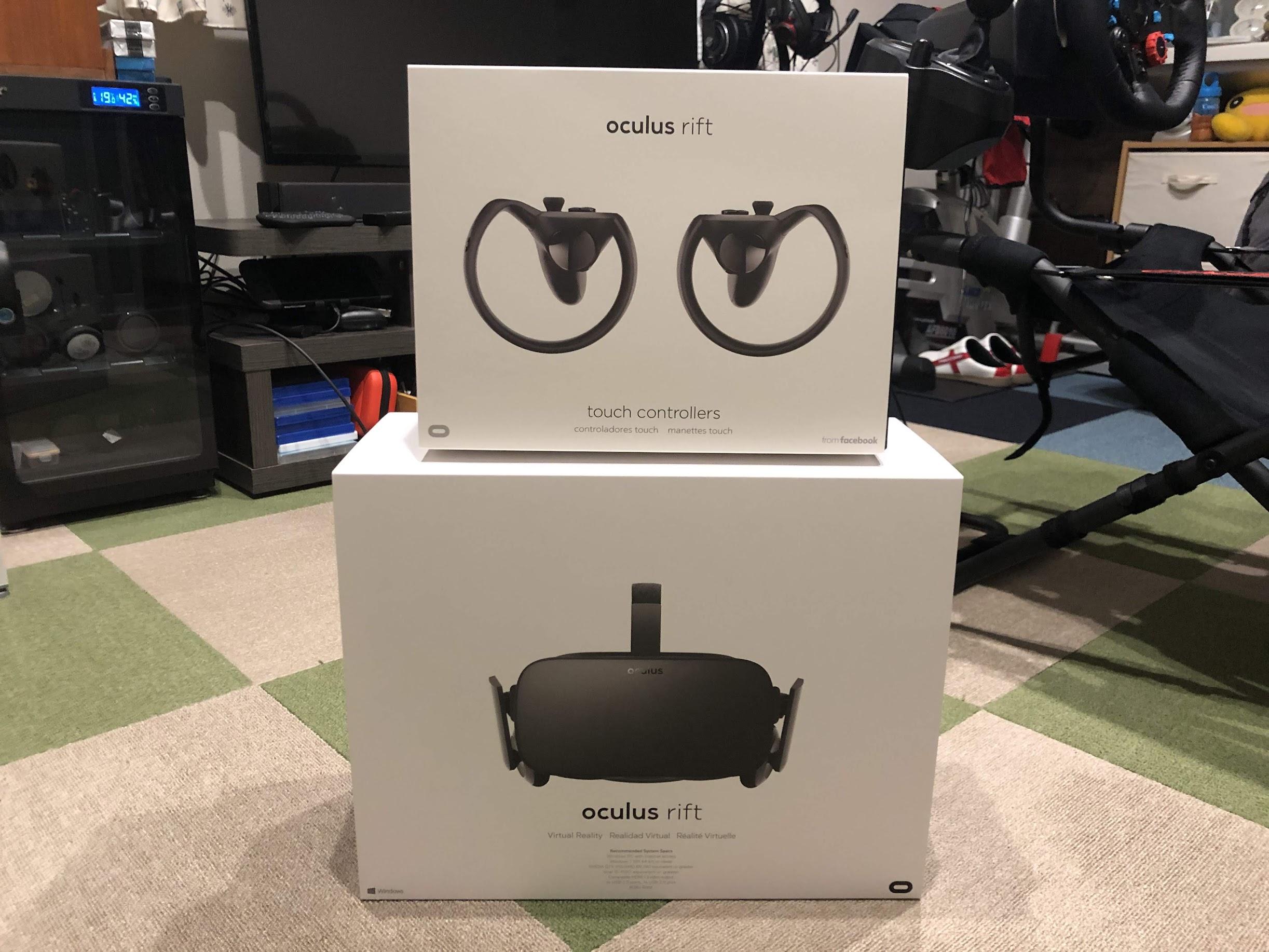 Oculus Riftがやってきた