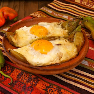 Hatch Chile Pepper Jack, Bacon and Eggs Recipe