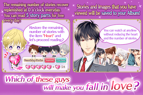 Double Proposal: Free Otome MOD APK [Unlimited Hearts] 8