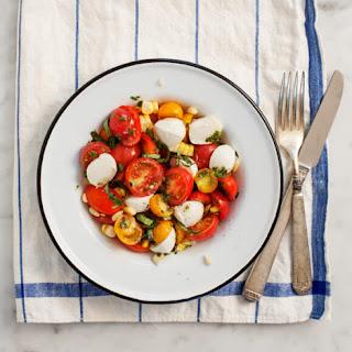 Cherry Tomato Basil Salad