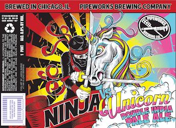 Pipeworks Ninja vs Unicorn IIPA