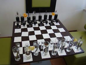 Photo: Um tabuleiro de xadrez diferente
