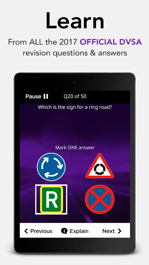 Motorcycle Theory Test & Hazard Perception Kit- screenshot