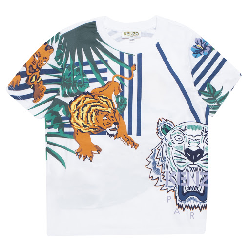 Primary image of Kenzo Kids Tiger Cotton T-shirt