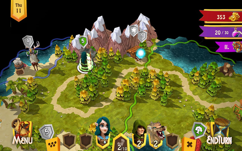 Heroes of Flatlandia Screenshot 4