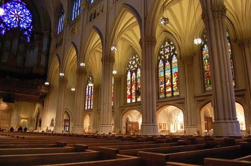 st-patricks-new-york-interior.jpg - The historic interior of St. Patrick's Cathedral in New York.