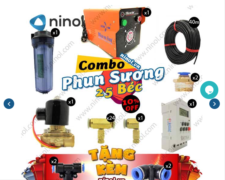 Bạn có thể tìm thấy nhiều dòng thiết bị khác nhau tại Ninol.vn